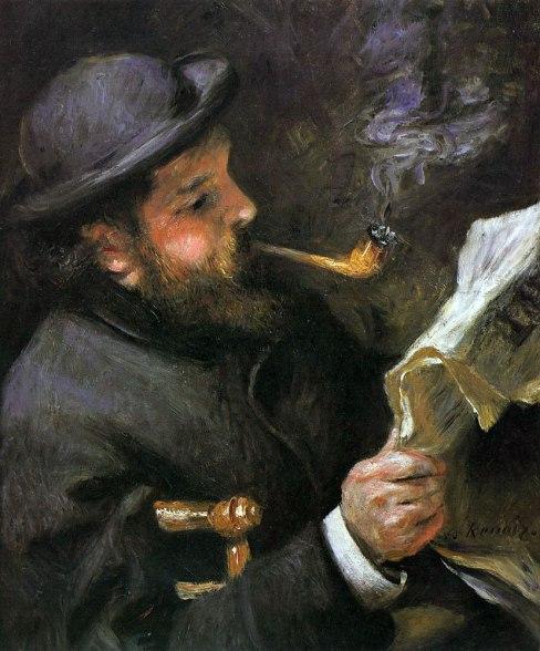 renoir-claude-monet-reading