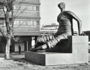 Draped Seated Woman, purchased by the Tower Hamlets council in 1960