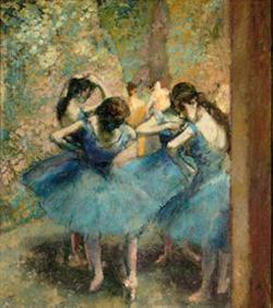 Dancers in Blue, 1890, Musée d'Orsay.