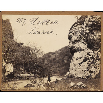 Lion Rock, Dovedale, Francis Frith, 1850s to 1870s (photographed), Whole-plate albumen print from wet collodion glass negative.