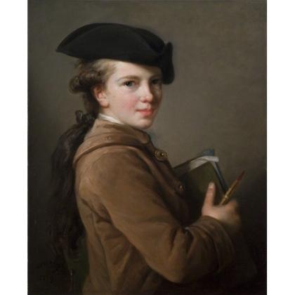 Portrait of the Artist's Brother, 1773. Oil on canvas, 61.6 x 50.5 cm, St Louis Art Museum