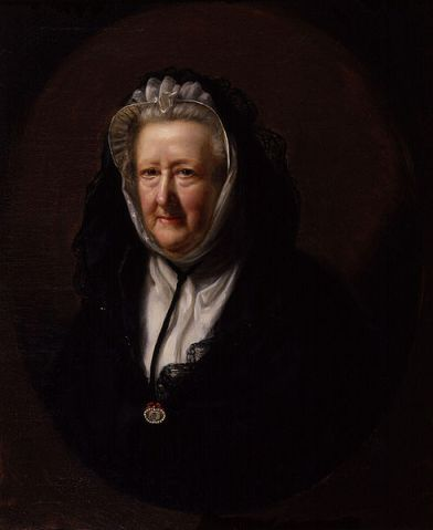 John Opie, Mary Delany, 1782, National Portrait Gallery.