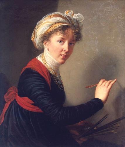 Self Portrait, 1800. oil on canvas, 78.5cm x 68cm. Hermitage, St. Petersburg.