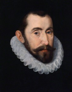 possibly after John De Critz the Elder oil on panel, 16th century (circa 1587) 14 3/4 in. x 11 3/4 in. (375 mm x 298 mm)