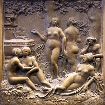 Loy Hering: Garden of Love / Fountain of Youth; 1525 Sculpture Collection (inv. 5942), Bode Museum, Berlin