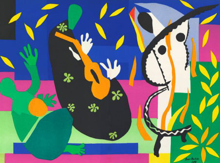 After Matisse, Sorrow of the King, 1958. Created for French art magazine Verve