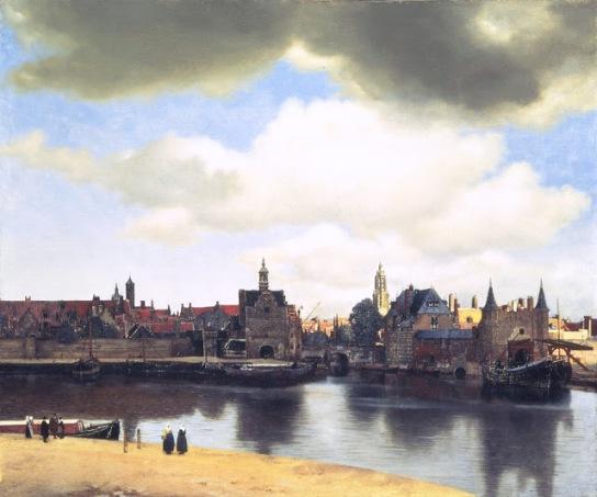 Johannes Vermeer (1632 - 1675) View of Delft c. 1660 - 1661 oil on canvas  96.5 cm x 115.7 cm