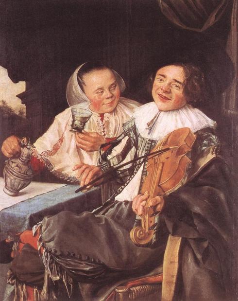 Carousing Couple, 1630, Oil on canvas, 68 x 54 cm, Musée du Louvre, Paris