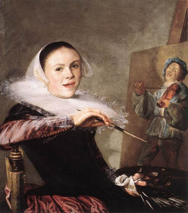Self-Portrait, c. 1635, Oil on canvas, 72.3 x 65.3 cm, National Gallery of Art, Washington