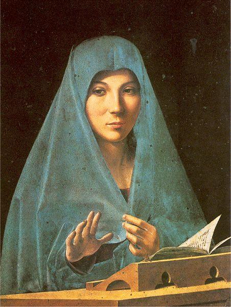 Antonello da Messina's 'Virgin Annunciate' (c1476), Palermo, Palazzo Abatellis